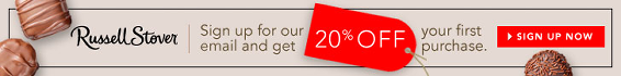 Russell Stover – Sign up for emails – get 20% off